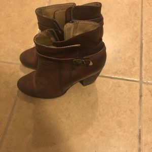 Frye High Heel Booties